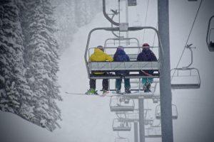 Snow Group Ski Lift Jon Resnick