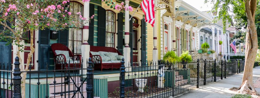 Historic Homes Nola