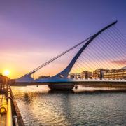 Evening in Dublin, Ireland