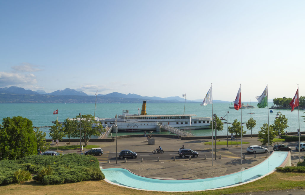 Olympic Park in Lausanne, Switzerland