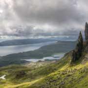 Old Man Of Storr, Isle of Skye, Scotland, Highlands