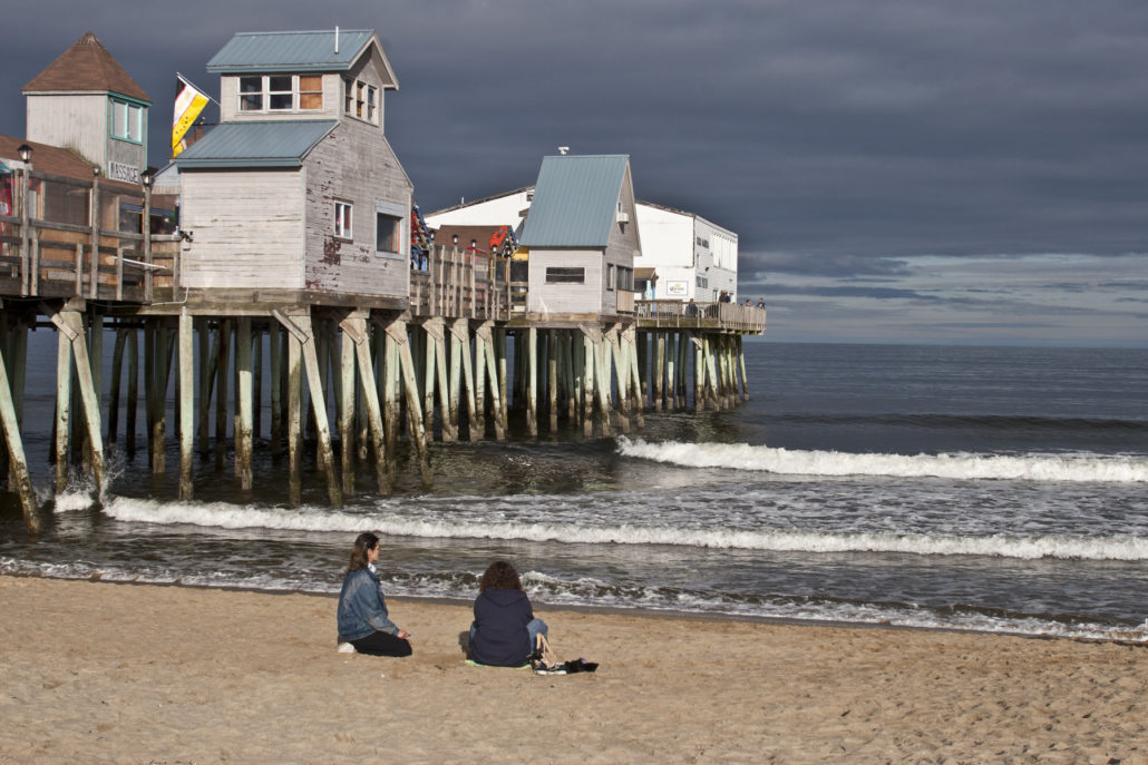 The Pier at Old Orchard Beach, Maine