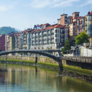 Bilbao Spain bridge