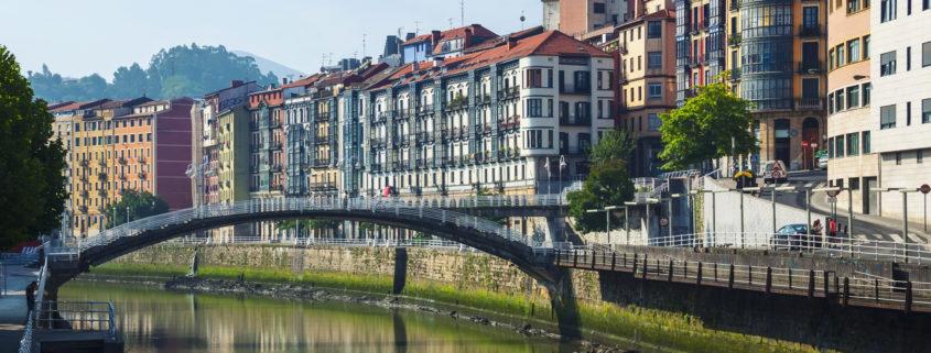 Bilbao Spain bridge