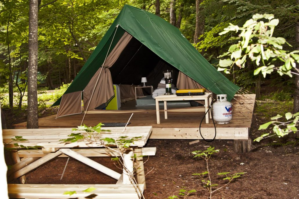 Glamping: A New Kind of Family Camping Vacation - Wherever ...