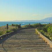 Moonstone Beach boardwalk in Cambria California