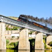 Duoro Valley Portugal Steam Train