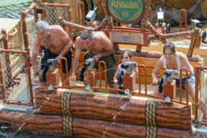 Multigenerational Family at theme park