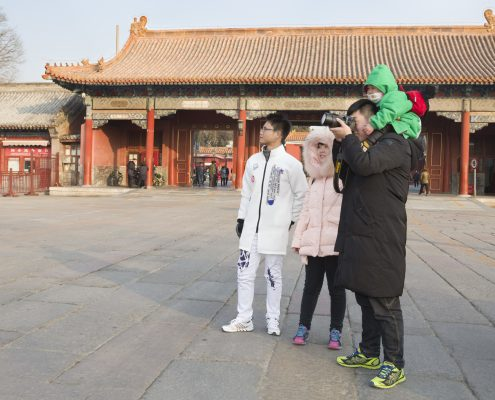 Family Sightseeing in Beijing