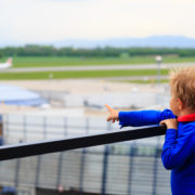 Kid Watching Planes