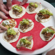 Mini Loteria Tacos on LA Food Tour