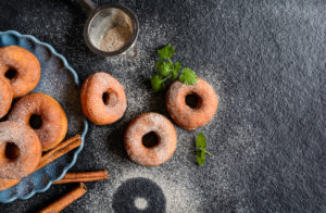 Mulled Cider Doughnuts