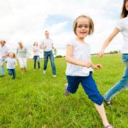 family running multigenerational