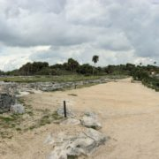 Ruins and Beach of Tulum, Mexico