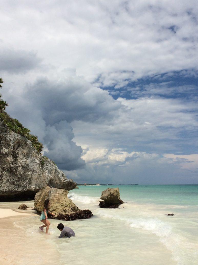 Tulum Beach in Tulum Mexico