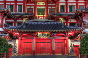 Buddha Tooth Relic Temple Museum in Singapore