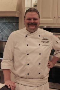 Chef Benjamin at Osthoff