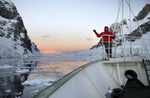 Midnight Sun in Antarctica
