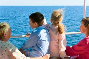 Family on Cruise Excursion