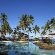 Luxury resort in Fiji