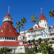 Roofline at the Hotel Del Coronado