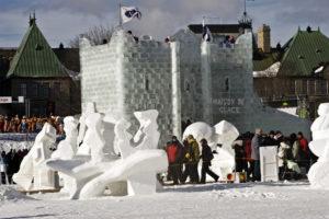 Quebec, Quebec City, winter,