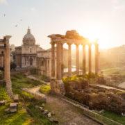 Roman Forum, Rome Ruins