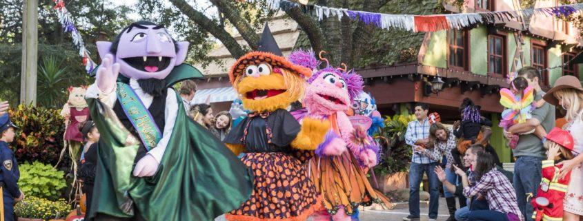Sesame Street Halloween Weekends_Busch Gardens Tampa Bay