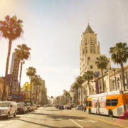 Los Angeles, Sunset, California