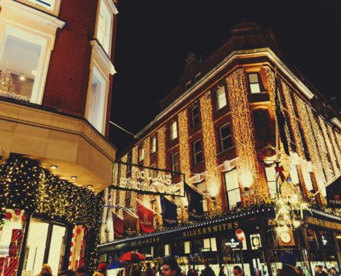 Grafton Street, Dublin, Ireland, Christmas