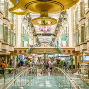 ROYAL PROMENADE ABOARD CRUISE SHIP