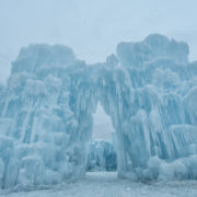 Ice Castle by day