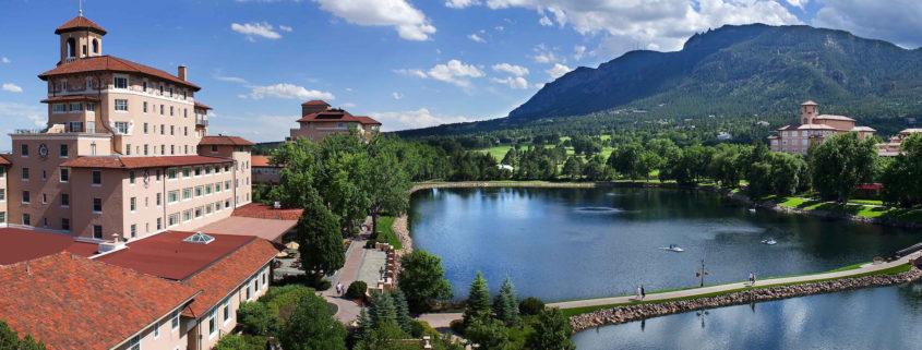 Campus Aerial Lake