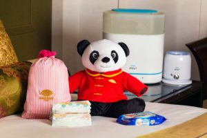 MOTPE Little Fan Amenity kit with Panda