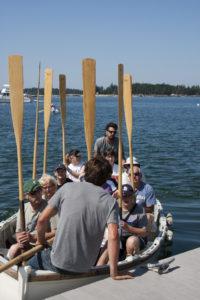Passengers as Crew!, Angelique, Maine coast