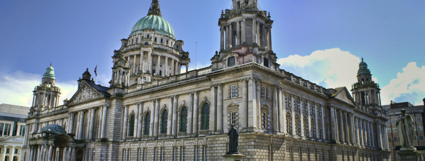 City Hall in Belfast Northern Ireland