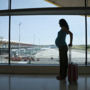 Pregnant waiting to fly