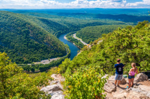 Delaware Water Gap hikers