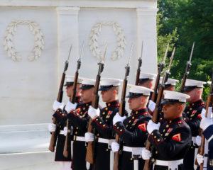 Marines at Arlington National Cemetery