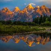 Grand Teton National Park Mountains, Wyoming