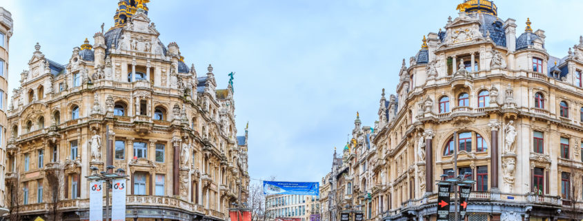 Cityscape of Antwerp Belgium