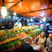 Marrakech, Morocco restaurant