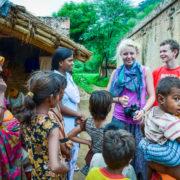 American teens in rural India