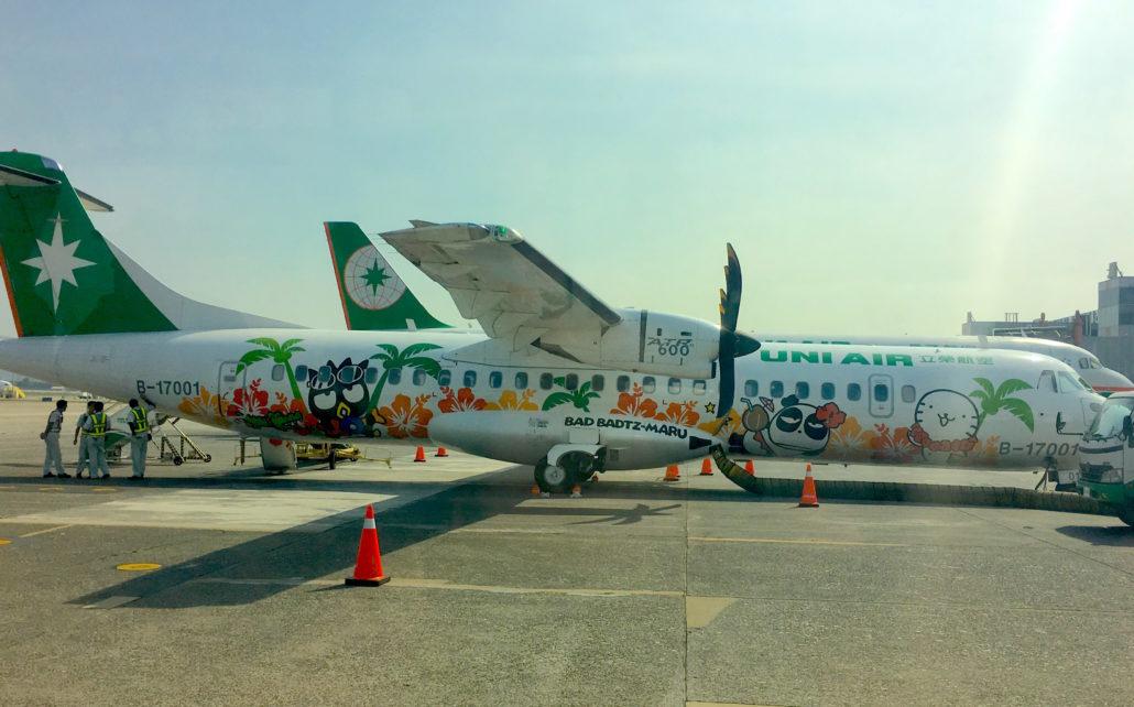 EVA UNI AIRegAirplane