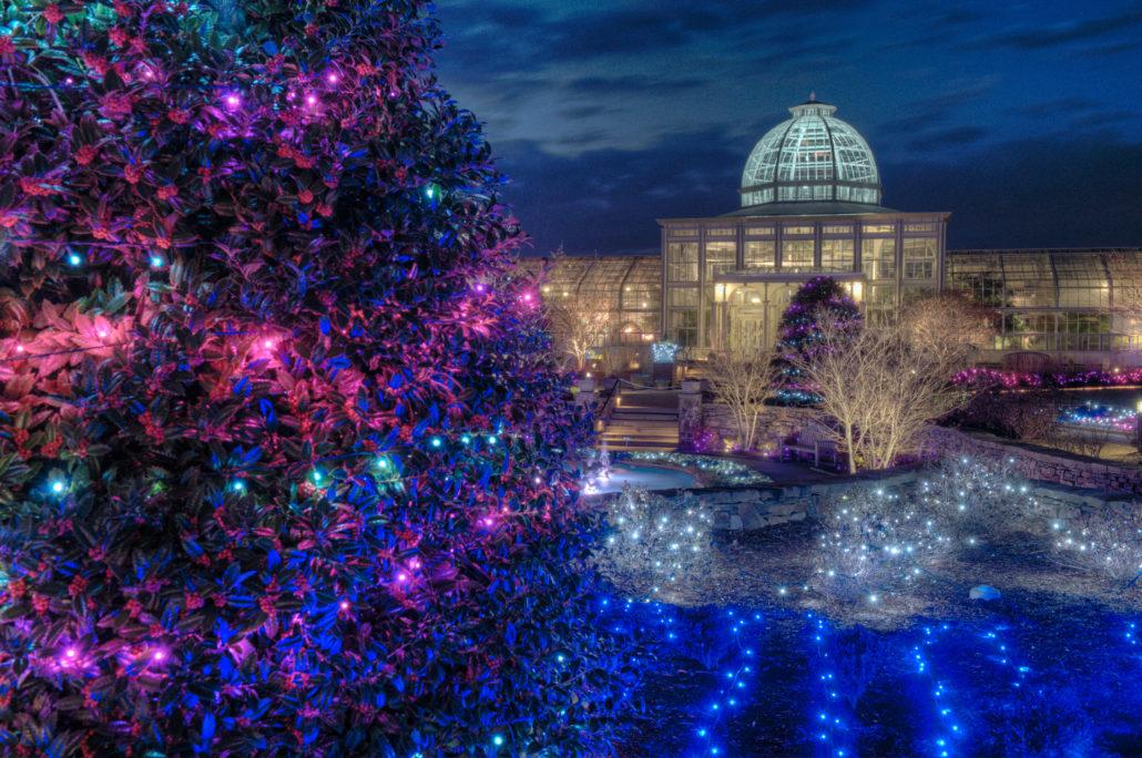 Wickham Park Christmas Lights