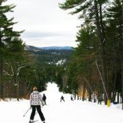 Pine Cone Trail, Purity Spring Resort, King Pine Ski Area, Madison, NH