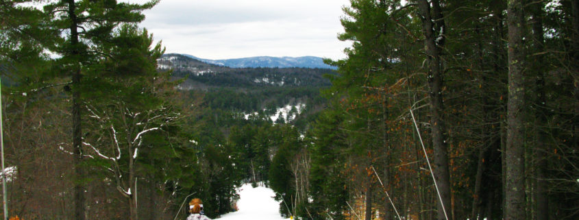 Pine Cone Trail, Purity Spring Resort, King Pine Ski Area, Madison, NH