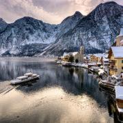 Hallstatt Christmas in Austria