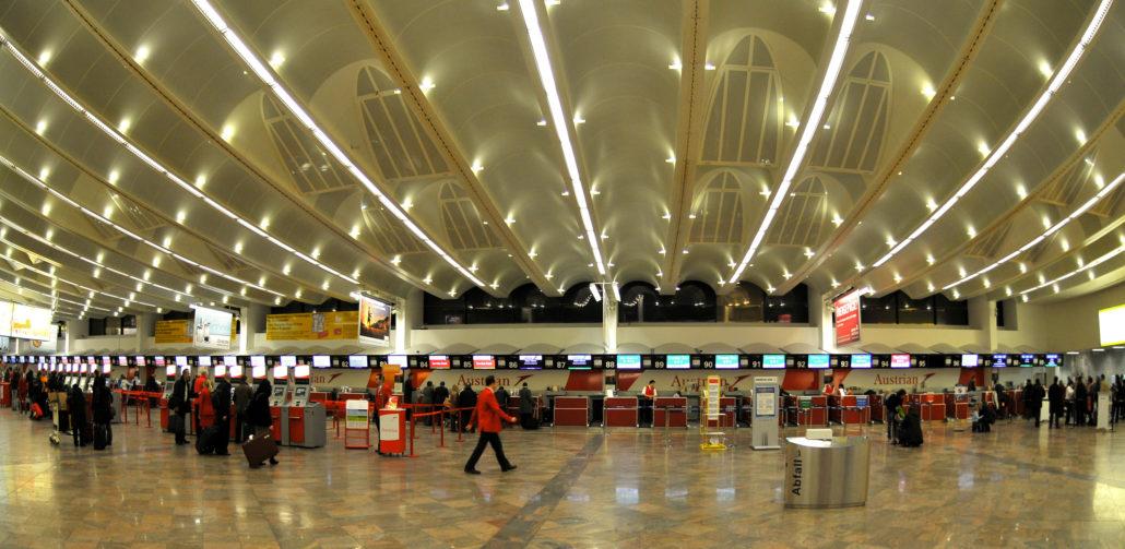 Vienna Airport terminal