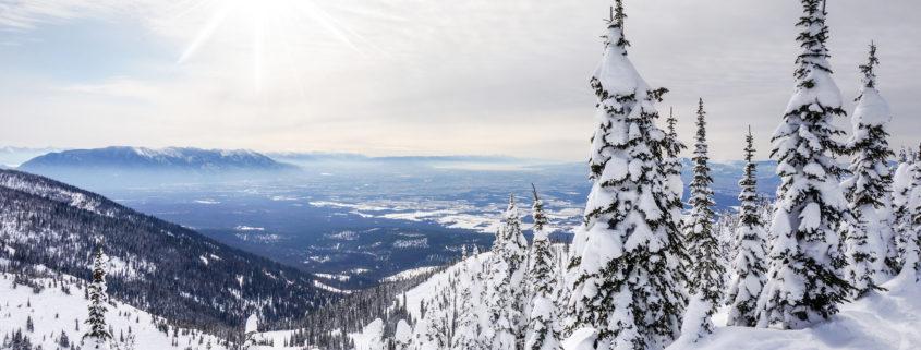 Winter in Montana